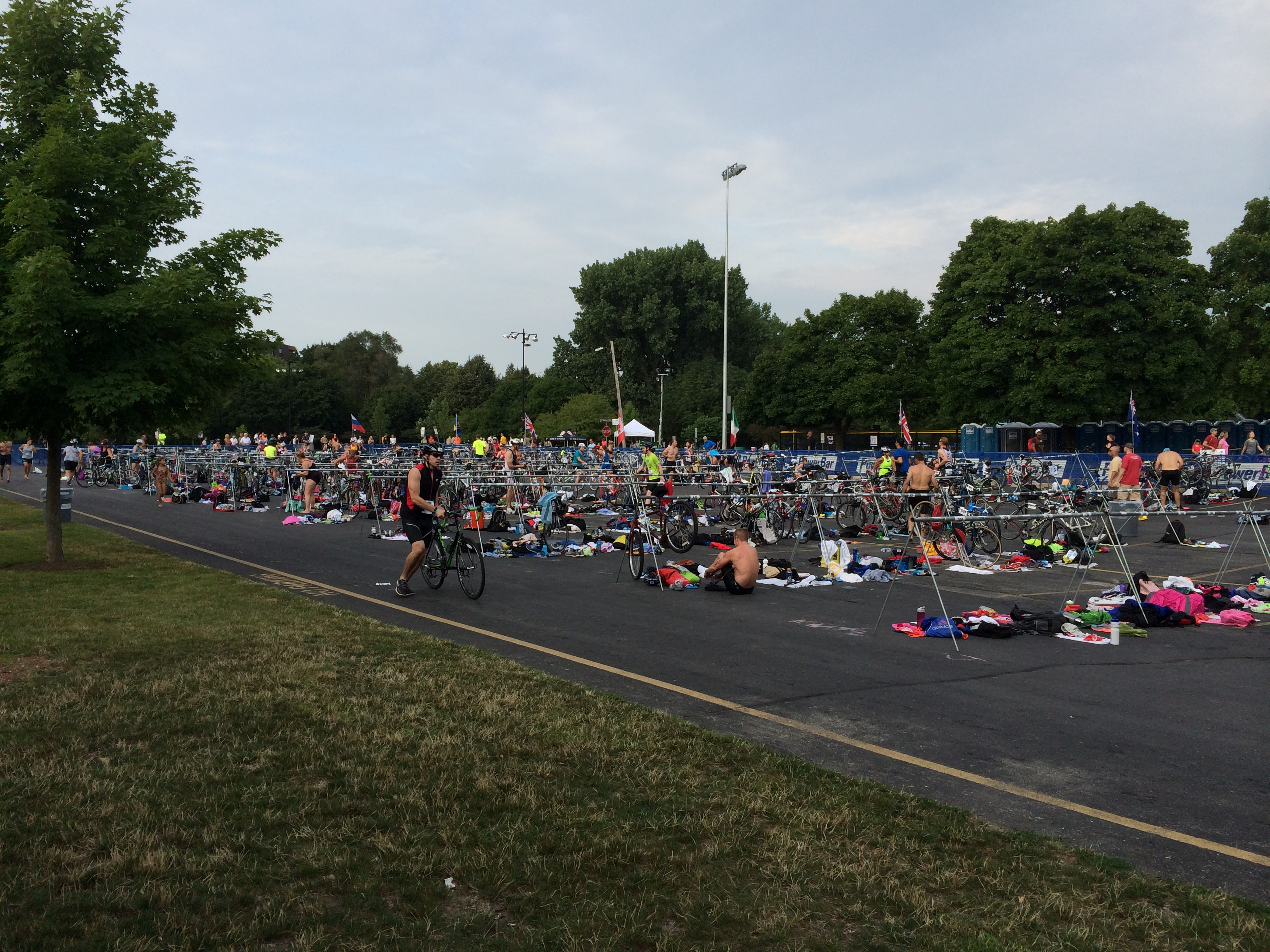 Naperville Sprint Triathlon Race Course