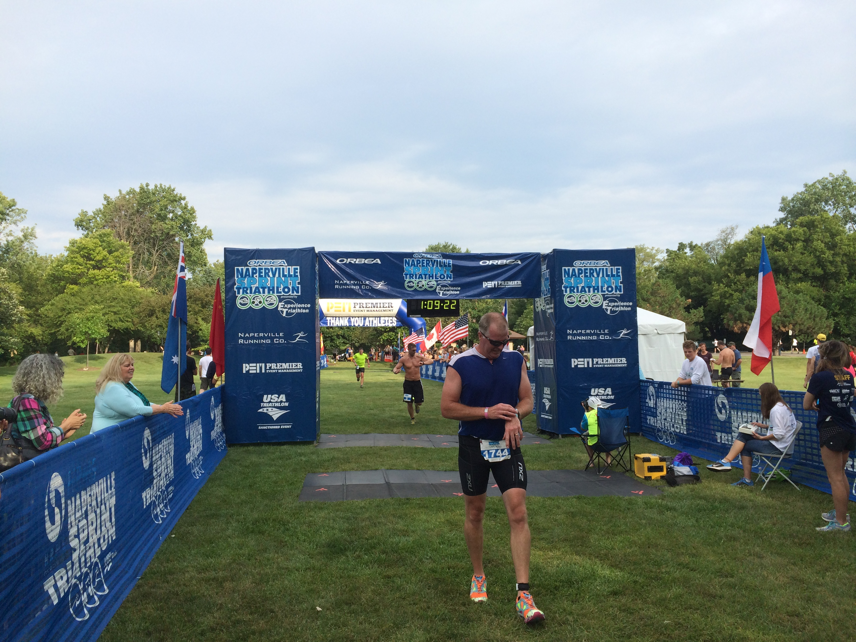 Naperville Sprint Triathlon Race Results