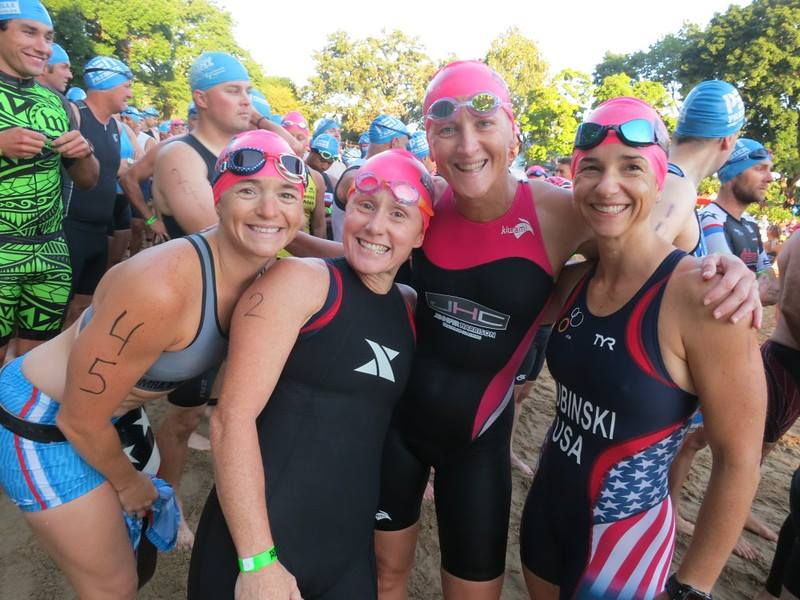 Naperville Sprint Triathlon Athlete Zone