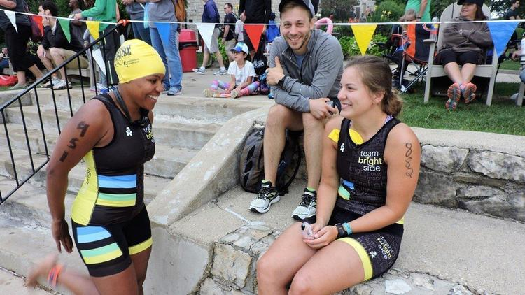 Naperville Triathlon Attracts People With A Variety Of Goals (Naperville Sun)