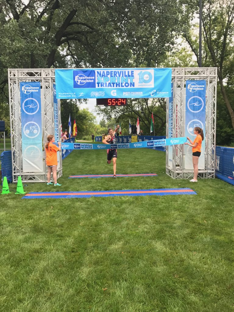 2017 Naperville Sprint Triathlon